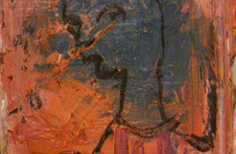 Untitled, 2011, oil on cardboard , 14x12 cm.