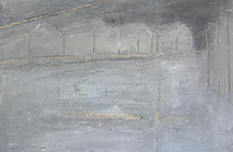 Rina Peled, Untitled, oil on plywood, 31x35 cm.