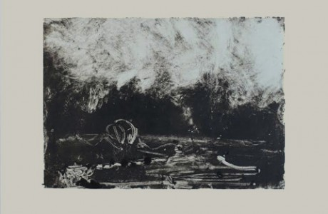 Untitled, 2013, monotype, 26x36 cm.