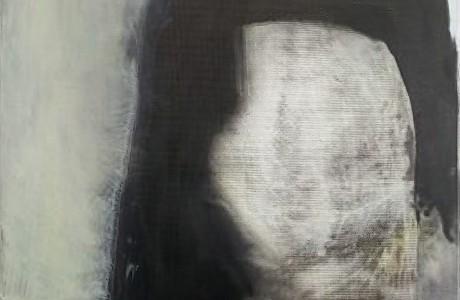 """ללא כותרת, 2017, אקרליק על בד, 30x30 ס""""מ."""