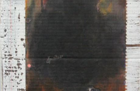 """שאריות, אקריליק על נייר, 37X29 ס""""מ."""