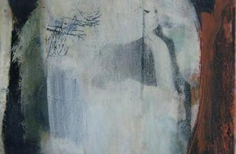"""ללא כותרת, 2013, אקרליק על בד, 40x30 ס""""מ."""