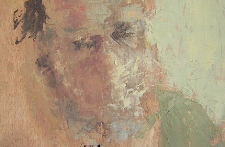 Talia Sivan, Untitled , oil on wood, 20x20 cm.