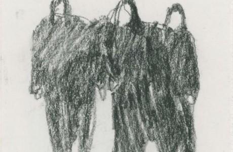 """ללא כותרת, 2012, גרפיט על נייר, 15X11 ס""""מ"""