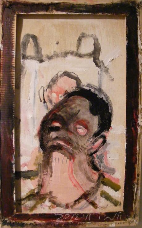 """ללא כותרת, 49x30 ס""""מ, שמן על בד, 2012"""