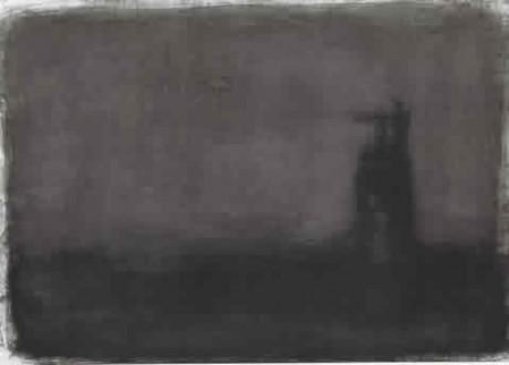 """ללא כותרת, 34x48 ס""""מ, דיו על נייר, 2011"""