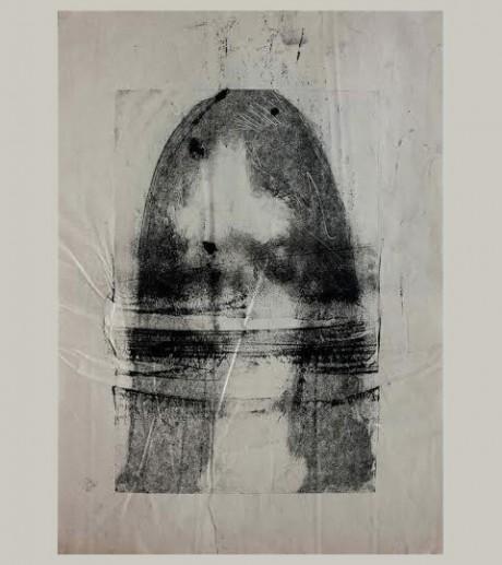 """ללא כותרת, 37x26 ס""""מ, מונוטייפ, 2013"""
