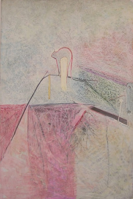 Untitled, 35x24 cm, pastel on cardboard, 1984