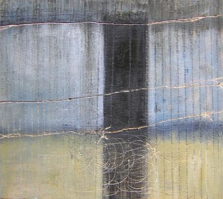 ללא כותרת, שמן על עץ לבוד, 2008